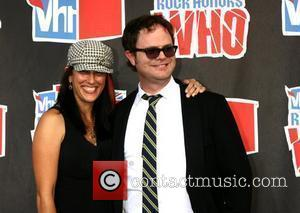 Rainn Wilson (R) and wife Holiday Reinhorn 2008 VH1 Rock Honors honoring The Who at UCLA's Pauley Pavilion - Arrivals...