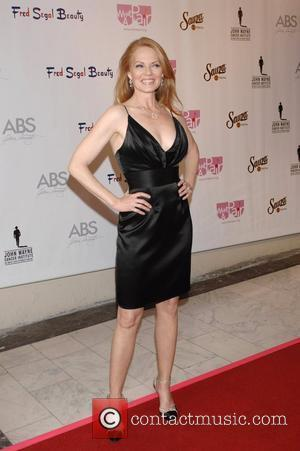 Marg Helgenberger What A Pair! 6 - A Celebrity Concert to Benefit the  John Wayne Cancer Institute - arrivals...