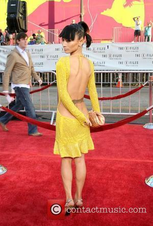 Bai Ling World Premiere Of The X Files 'I want to Believe' at the Grauman Chinese theater Hollywood, California -...