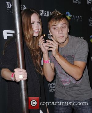 Daveigh Chase and Matt Cutshall Flo Live Mobile TV Presents X-Games After Party held at the Roxy in Hollywood Los...
