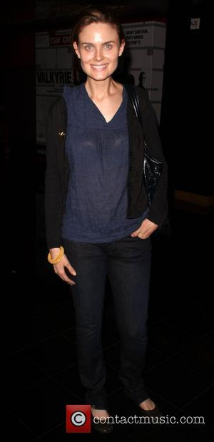 Emily Deschanel AFI Screening of 'The World We Want' held at Mann's Chinese 6 Theatre - Arrivals Hollywood, California -...