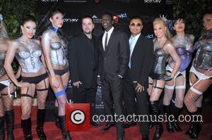 Akon and Clive Seecomar