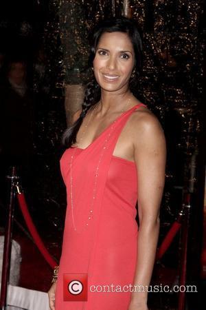 Padma Lakshmi at the New York premiere of 'Australia' at the Ziegfeld Theatre - Arrivals New York City, USA -...