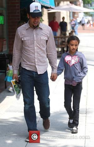 Ben Harper and daughter Harris Harper leaving a medical centre in Beverly Hills Los Angeles, California - 22.05.09