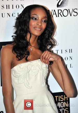 Jourdan Dunn  British Fashion Awards held at Lawrence Hall  London, England - 25.11.08
