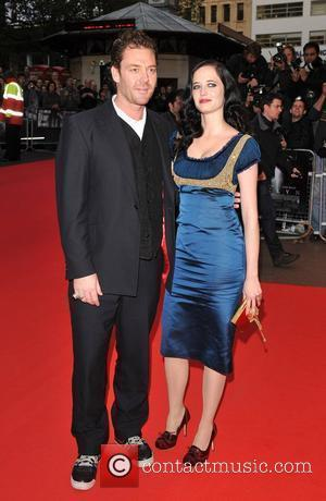Marton Csokas and Eva Green  The Times BFI London Film Festival: Franklyn - official screening, held at the Odeon...