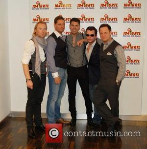 Ronan Keating, Boyzone, Duffy, Keith Duffy, Shane Lynch and Stephen Gately