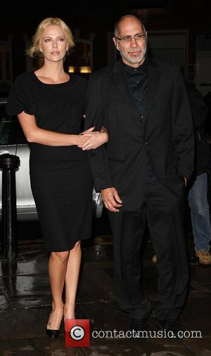 Charlize Theron and Guillermo Arriaga Q&A and screening of 'The Burning Plain' held at the Everyman Cinema in Hampstead -...