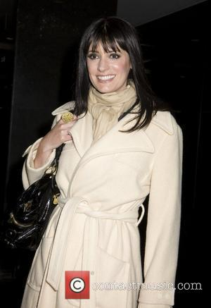 Paget Brewster Seen exiting taping of Conan O'Brien Show NBC Studio, New York City, USA - 29.10.08
