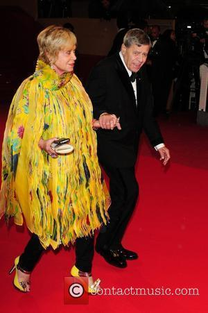 Jerry Lewis and his wife SanDee Pitnick 2009 Cannes International Film Festival - Day 3 - 'Precious' premiere - Arrivals...