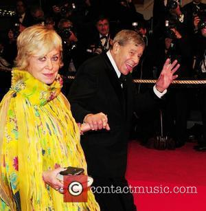Jerry Lewis and His Wife Sandee Pitnick