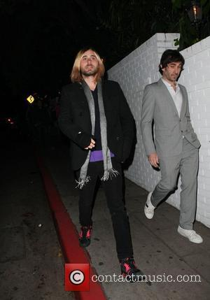 Jared Leto and friends Leaving the Chateau Marmont hotel Los Angeles, California - 21.02.09