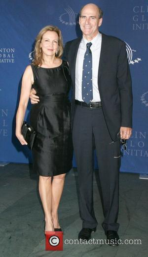 Singer James Taylor and wife Caroline 'Kim' Smedvig The Clinton Global Initiative afterparty at the MOMA - arrivals New York...