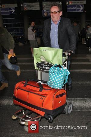 Colm Meaney  seen arriving at Los Angeles LAX airport Los Angeles, California - 11.04.09