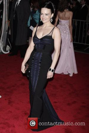 Carla Gugino 'The Model As Muse: Embodying Fashion' Costume Institute Gala at The Metropolitan Museum of Art - Arrivals New...
