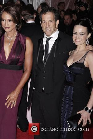 Kenneth Cole and Carla Gugino