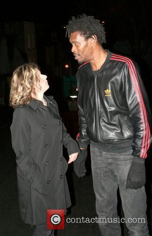Daddy G aka Grantley Marshall of Massive Attack leaving the Grace Jones concert at the Colston Hall Bristol, England -...