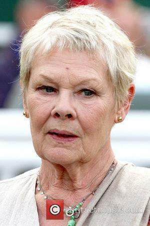 Dame Judi Dench and her daughter enjoy a day at Sandown Park Racecourse, where her horse, Smokey Oakey, finished in...