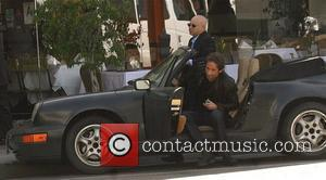 David Duchovny, Evan Handler On The Set Of 'californication' and Filming On Location In Beverly Hills