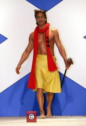 Marcus Schenkenberg Seventh Annual Dressed To Kilt charity fashion show  to benefit the Friends of Scotland  New York...