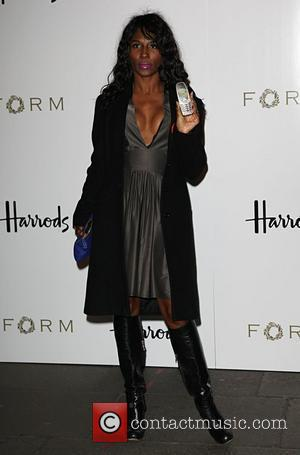 Sinitta Petra Ecclestone launches her debut menswear collection at Harrods London, England - 02.10.08
