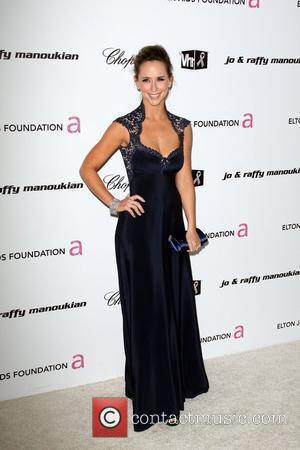 Jennifer Love Hewitt 17th Annual Elton John AIDS Foundation Academy Awards (Oscars) Viewing Party  held at the Pacific Design...