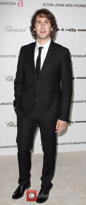 Josh Groban 17th Annual Elton John AIDS Foundation Academy Awards (Oscars) viewing party, held at the Pacific Design Center West...