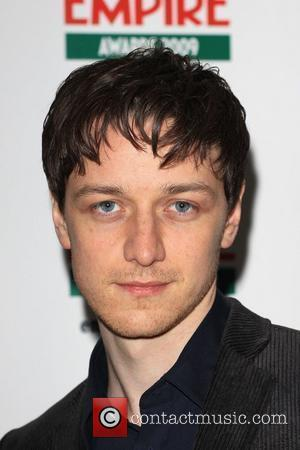 James McAvoy Jameson Empire Film Awards held at the Grosvenor House Hotel - arrivals London, England - 29.03.09