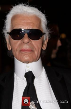 Karl Lagerfeld  Fashion Group International Night of the Stars awards at Cipriani Wall St. - Arrivals New York City,...