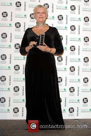 Dame Judi Dench The London Critics' Circle Film Awards held at the Grosvenor House Hotel - Press Room London, England...