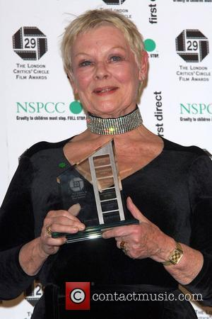 Dame Judy Dench The London Critics' Circle Film Awards held at the Grosvenor House Hotel - Press Room London, England...