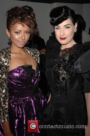 Katerina Graham, Dita Von Teese Genlux Magazine's Brit week designer of the year fashion show and awards held at the...