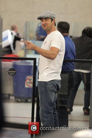 Gerard Butler and The Departure