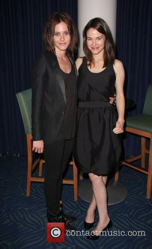 Katherine Moennig and Leisha Hailey The 20th Annual GLAAD Media Awards held at the Nokia Theater - Inside Los Angeles,...