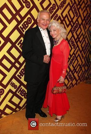 Buzz Aldrin & Lois Aldrin arriving at the HBO Post Golden Globe Party at Circa 55, at the Beverly Hilton...