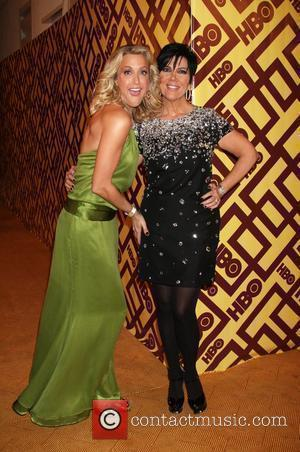Lara Spencer & Kris Jenner  arriving at the HBO Post Golden Globe Party at Circa 55, at the Beverly...