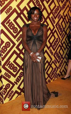 Viola Davis arriving at the HBO Post Golden Globe Party at Circa 55, at the Beverly Hilton Hotel  Beverly...