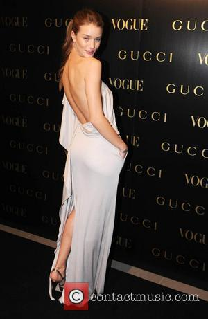 Rosie Huntington-Whiteley Vogue Gucci Dinner held at Saatchi Gallery - Arrivals London, England - 01.04.09