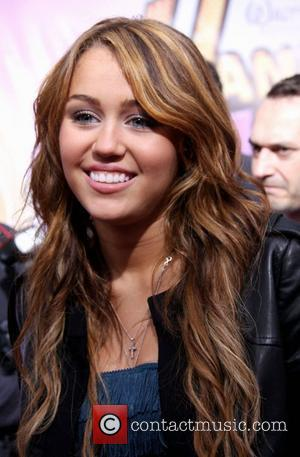 Miley Cyrus World Premiere of Walt Disney Pictures 'Hanna Montana The Movie' held at the El Capitan Theatre Hollywood, California...