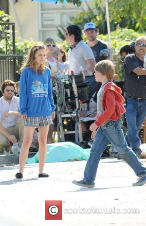 Natalie Portman filming on location for the upcoming film 'Hesher' Los Angeles, California - 20.05.09