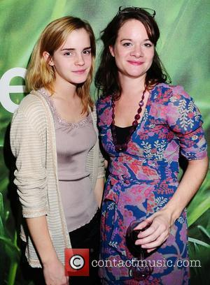 Emma Watson and Vivienne Storry attend the 'In a Dark Dark House' Press Night held at the Almedia Theatre. London,...