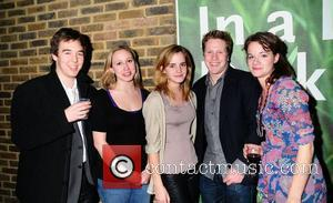 Emma Watson Tom Attenborough Vivienne Storryand and friends attend the 'In a Dark Dark House' Press Night held at the...