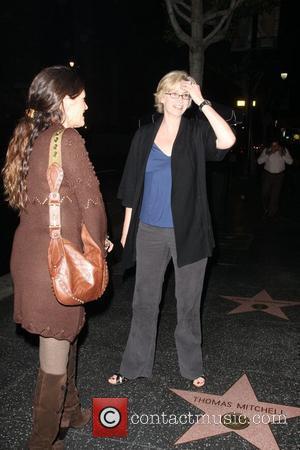Jane Lynch outside Katsuya Restuarant. Los Angeles, California - 20.11.08