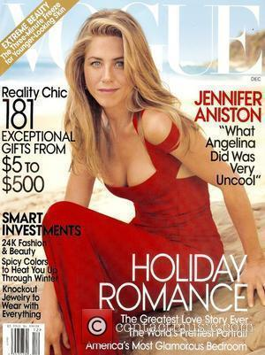 Jennifer Aniston on the December 2008 cover of 'Vogue' magazine USA - 14.11.08