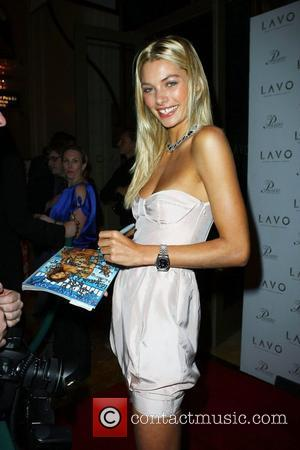 Jessica Hart Sports Illustrated Swimsuit Model Jessica Hart  Hosts Valentine's Day at LAVO at The Palazzo Hotel and Casino...