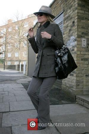 Kate Moss leaving her house London, England - 30.01.09