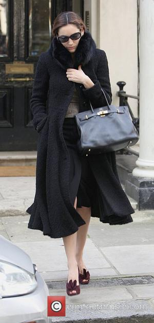 Kelly Brook looks unhappy as she leaves her home on her way to the hairdressers London, England - 10.09.08
