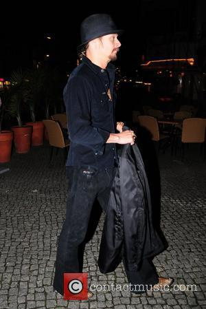 Kid Rock  arriving at Grill Royal restaurant Berlin, Germany - 07.11.08