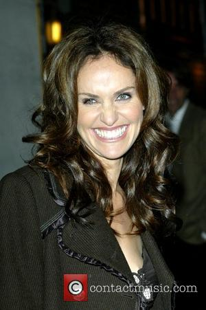 Amy Brenneman outside the Ed Sullivan Theatre for the 'Late Show With David Letterman' New York City, USA - 11.11.08