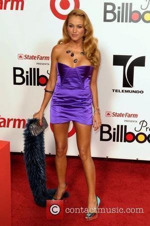 Paulina Rubio The 2009 Billboard Latin Music Awards at Bank United Center - Arrivals Miami Beach, Florida - 23.04.09